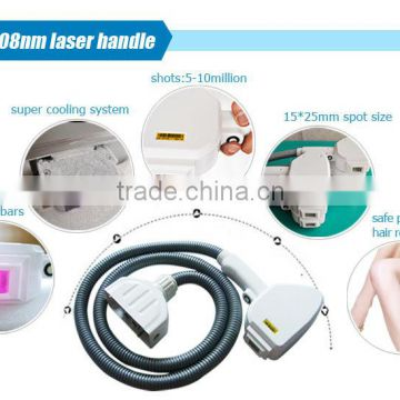 TEC cooling system imported 10 laser bars vertical 808nm diode laser