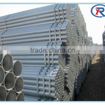 cheap price bs 1387 galvanized welded steel tube/pipe