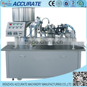 hand cream filling machine plastic tube soft tube filling and sealing machine