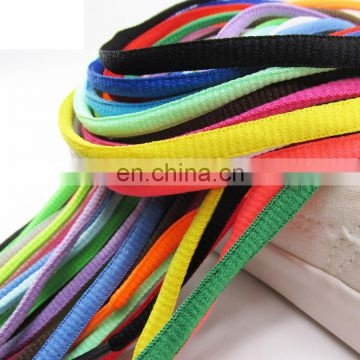 Strong fashinable 5mm polyester round shoelace