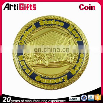 Custom plated fashion silver coins