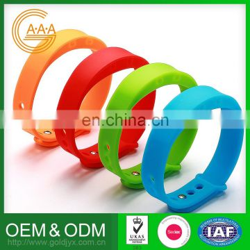 Custom Printing Logo Silicone Bracelets Factory Direct Price Eco-Friendly Various Designs Smart Bracelet Smart Band