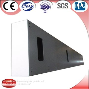 Aluminum Curtain Wall Composite Panel Building Material
