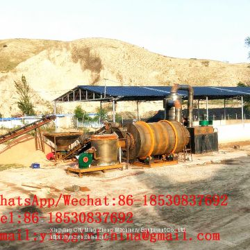 large capacity 20T/H sand drying machine, silica sand dryer, river sand dryer price