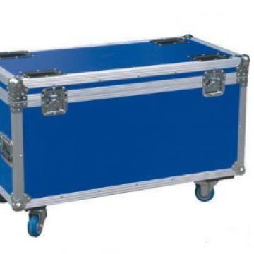 Aluminum Mdf Board  Heavy Duty Wheels 32 Tv Flight Case