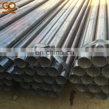 China's Manufacturer ASTM A53 schedule 40 ERW Welded Carbon Round Steel Pipe