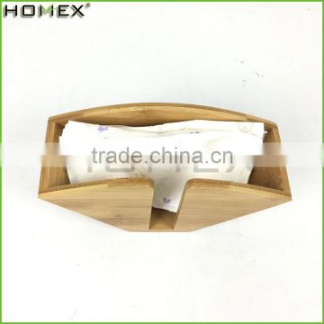 Bamboo Coffee Filters Dispenser Rack Homex-BSCI Factory
