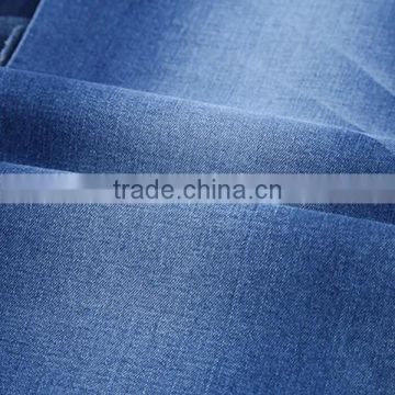 High quality dyed 65%polyester and 35% cotton ,polycotton twill fabric for jeans 32*32