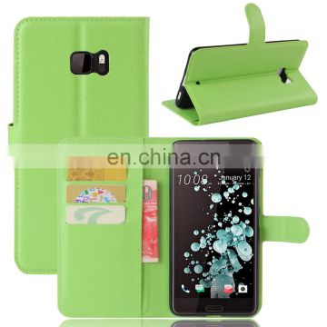 Flip Leather Case for HTC U Ultra, for HTC U Ultra Case with Card Slots
