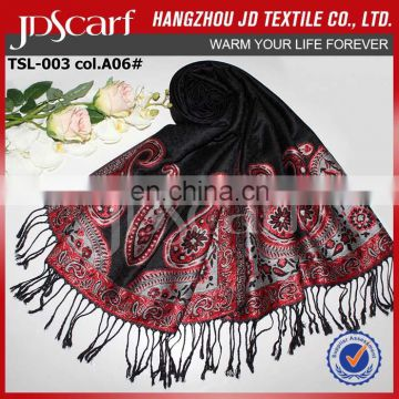 China manufacturer new style very soft rayon pashmina scarf