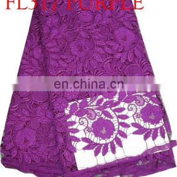 recommended cord lace fabric for woman dress(FL319)high quality/best price/in stock/popular/fashion/prompt delivery