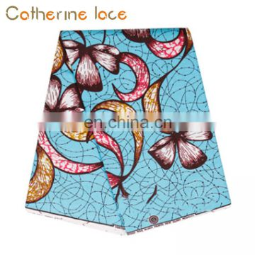 Catherine Wholesale Supplier Multicolors Wax Lace Fabric For Wedding Dress