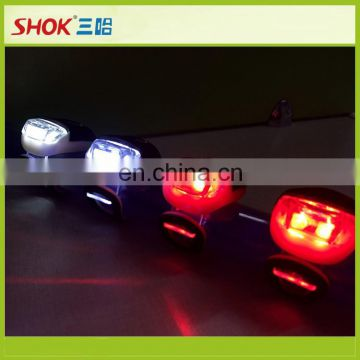 hot!LED Silicone Bike Rear Light for sport