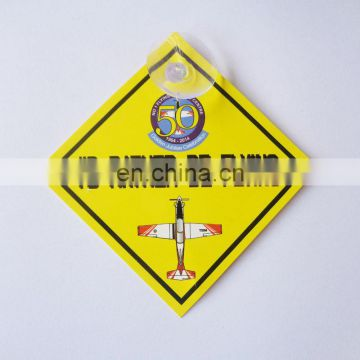 Hot sales custom printed baby on board car sticker signs as a decoration for your car