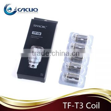 Cacuq Smok TFT3 Coil Head Electronic Cigrette Quadruple Coil Head replacement