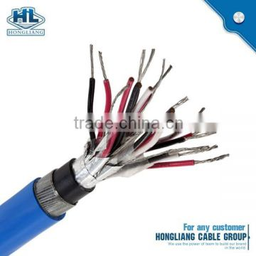 Copper Conductor Lead Sheathed Cable 2 Pairs Shield Instrument With Drain