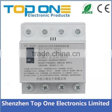 Best quality cheap price new patent power surge protector over and under voltage protector