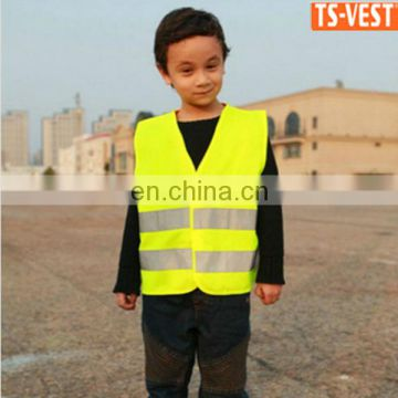 EN1150 kid reflective safety vest for children