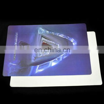 plastic pp thin desk pad