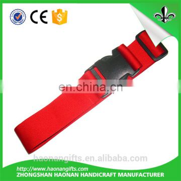 Hot sale polyester material neck strap, polyester lanyard luggage strap