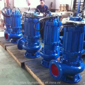 WQ series submersible pump, submersible sewage pumps, coupling sewage water pump
