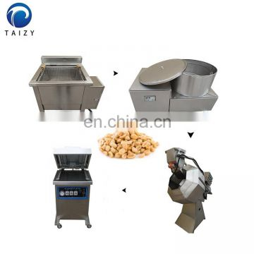 donut soya bean groundnut broad bean nuts peanut frying machine