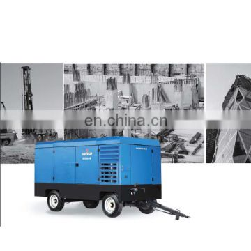 Professional motor rotary electric mobile screw air compressor with reasonable price