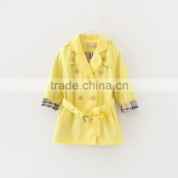 2015 Korean Style Girls Coat Autumn Kids Coat