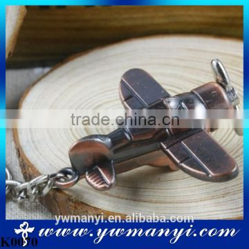 Metal alloy airlines model keychain plane model key chain air plane keychain keyring K0070                                                                         Quality Choice