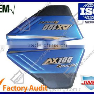 Top Quality Motorcycle Body Parts Plasitc Side Cover Set AX100