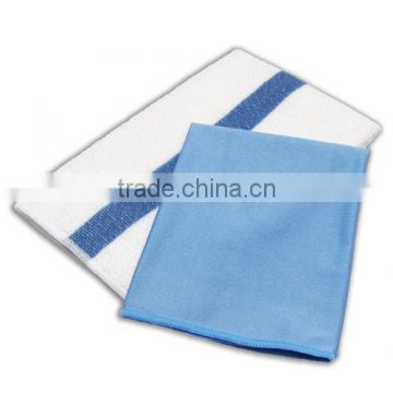 Super absorbent microfiber hotel cleaning cloth