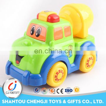 Newest toy truck funny friction power toys cars with light and music