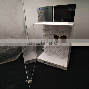 Factory custom glasses display pmma plexiglass acrylic display for glasses