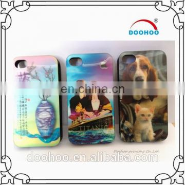 hot picture high quality beautiful 3D Plastic Phone Case for iPhone 5/5s/6