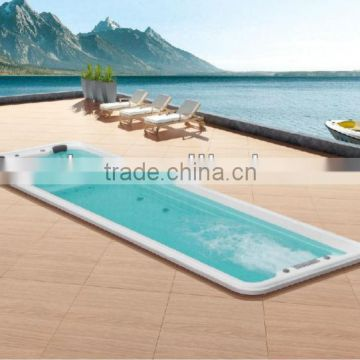 1 meter deep swimming pool;7 meters length swimming pool ;swimming equipment for hotel and passenger liner use