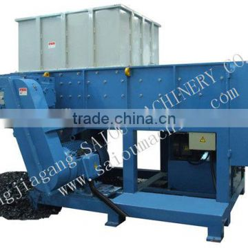 waste plastic shaft shredder