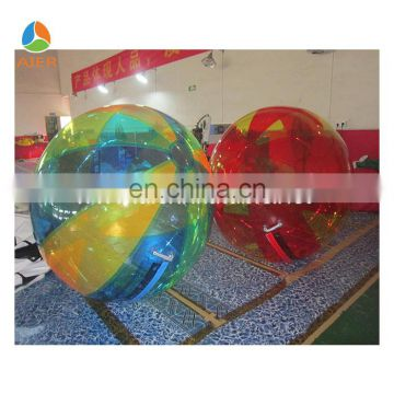 AIER water game oem amusement park walking water ball zorb ball for kids