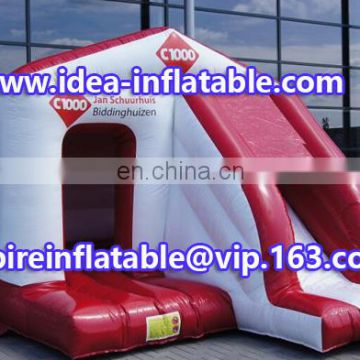 inflatable jumping house combo bouncy castle ID-CB085