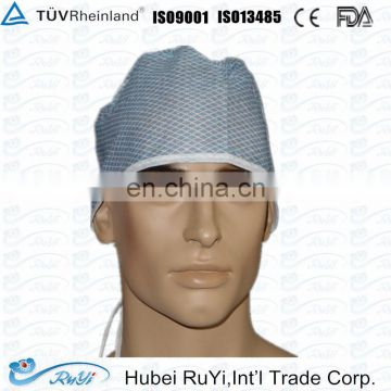 tie style disposable nonwoven PP doctor cap