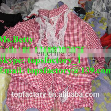 Top quality fashion used clothes in bales china