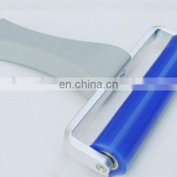 clean room silicon roller with plastic handle