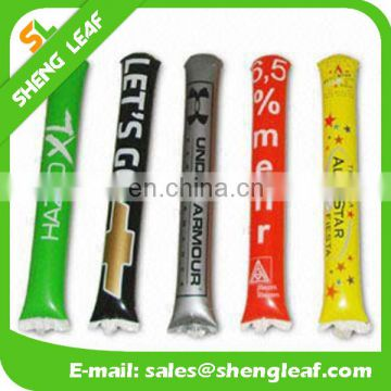 Custom printing bang stick/inflatable thunder stick/cheering Stick