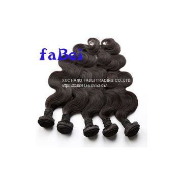 100% human hair weave brazilian human hair wet and wvy weave have long time service time. Could do fast delivery