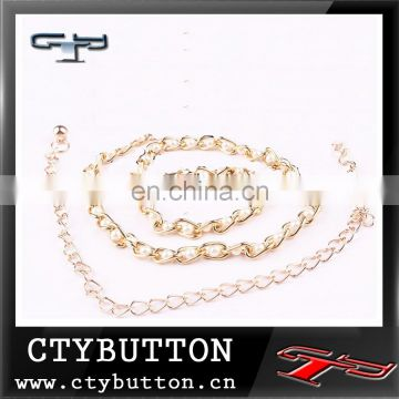 2015 brand new pearl dress belt for female