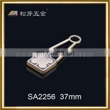 Super quality hot sell string zip puller for jeans garment
