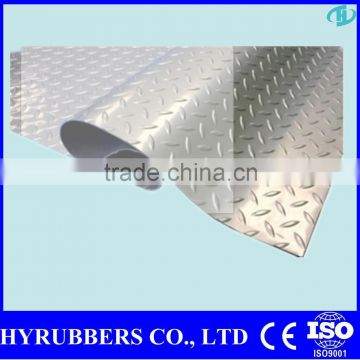2015 factory produced diamond floor rubber
