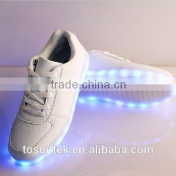 LED luminous shoes adult led casual shoes men & women USB charging light led
