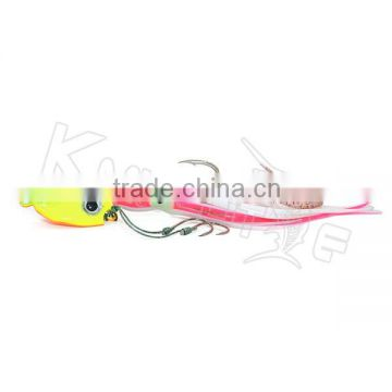 Chentilly CHLP27 brand new lead jigs with octopus skirts soft body fishing lure                                                                                                         Supplier's Choice