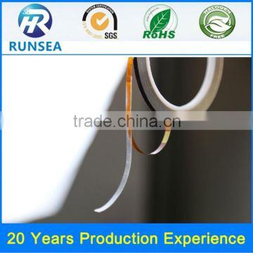 China top grade polyimide double-sided adhesive tape double side coated adhesive polyimide tape
