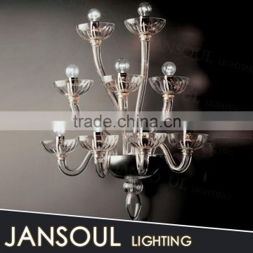 antique custom cheap new design tree shape wall sconce colored murano glass bubble chandelier